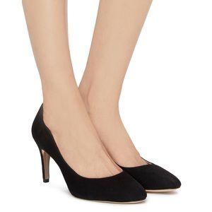 Sam Edelman Elise Pump Black Suede Size 9.5 NEW